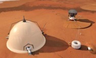 Future Martian habitats could be made of mushrooms...
